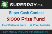 $1000 Super Cash Contest